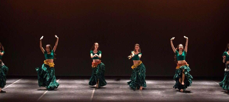 Clases de Danza del vientre en Centro Coppelia Ourense
